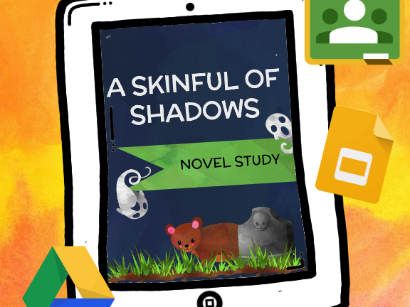 A Skinful of Shadows Novel Study