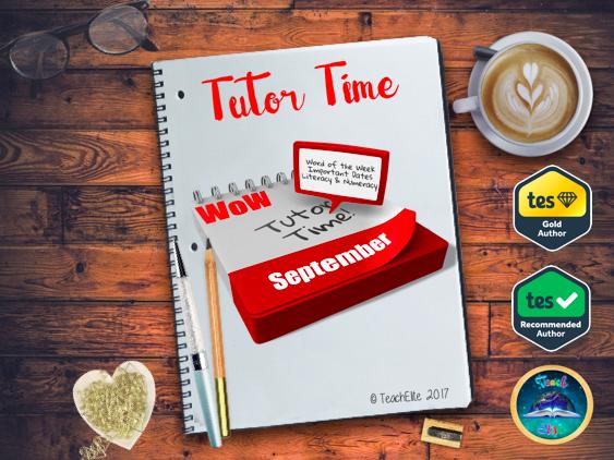 Back To School - Tutor Time / Assembly Pack - September