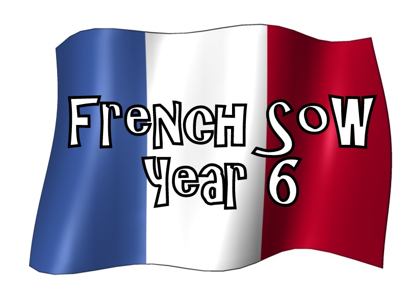 FRENCH SoW - YEAR 6 - BUNDLE - WORKSHEETS