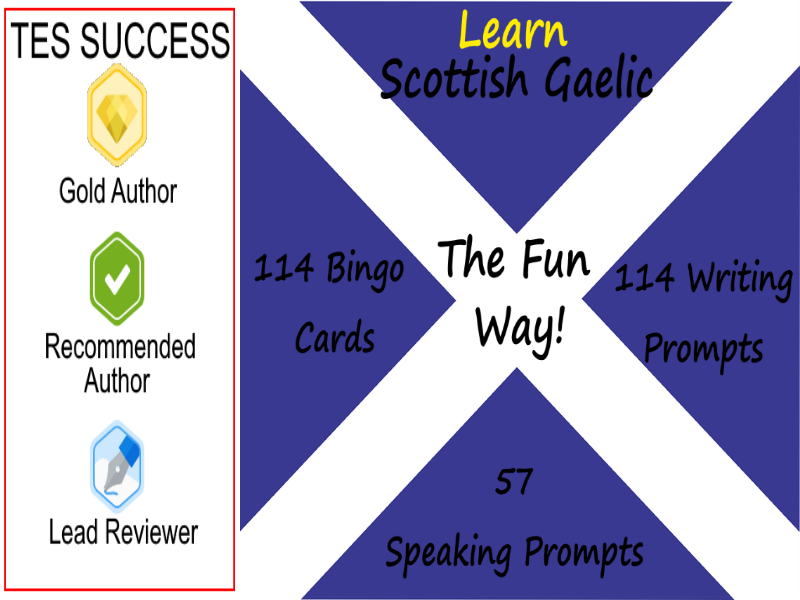Learning Scottish Gaelic The Fun Way! - Bundle