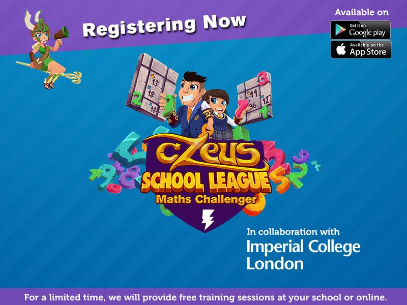 cZeus School League for KS3 (updated)