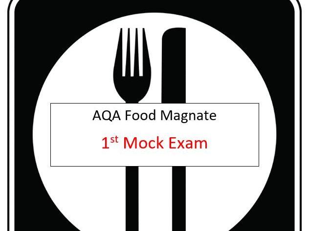 AQA - A-Level Computer Science (Food Magnate) (Short Mock Paper 1)