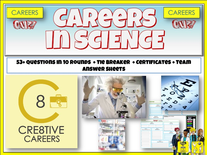 Science STEM Careers Quiz