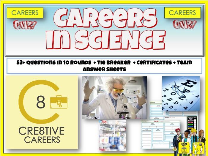 Science STEM Careers Quiz