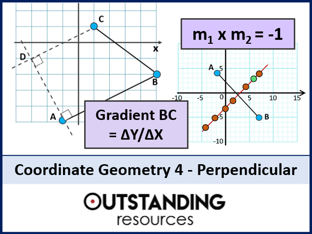 Coordinate Geometry 4 - Perpendicular Lines, Bisectors and Normals