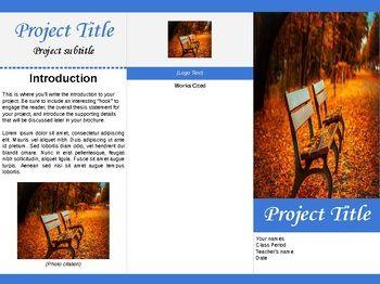 tri fold brochure template for google docs by ltgunkel. Black Bedroom Furniture Sets. Home Design Ideas