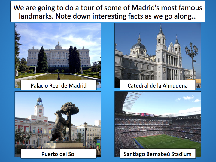 Madrid Tour - Geography of Spain - KS2