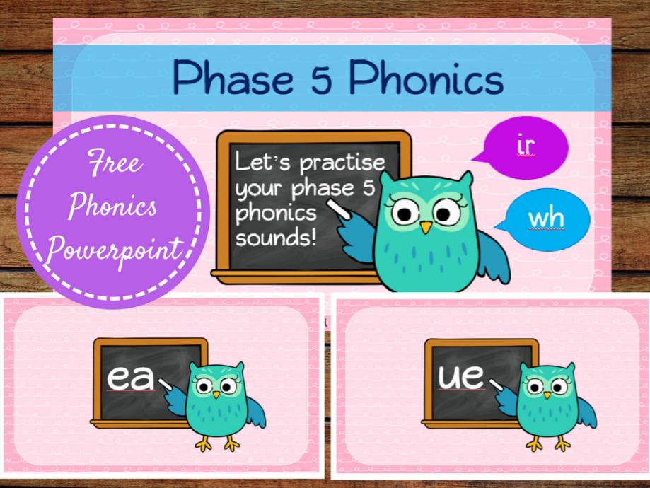 Phase 5 Phonics Powerpoint
