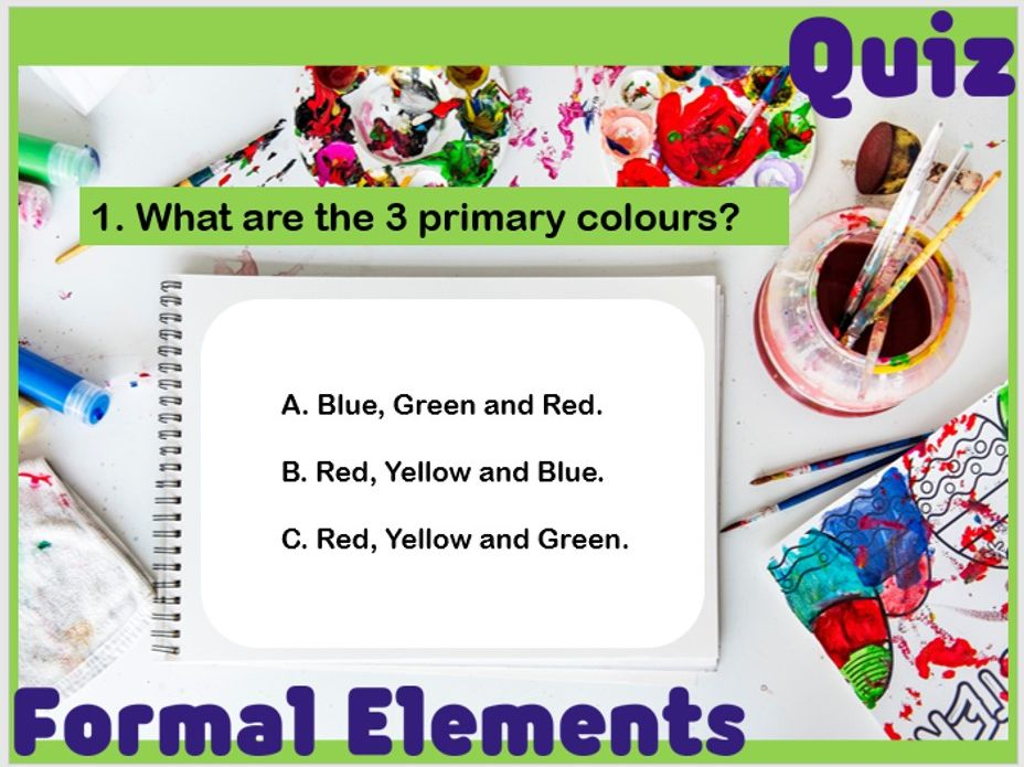 KS3 Art - Formal Elements Quiz