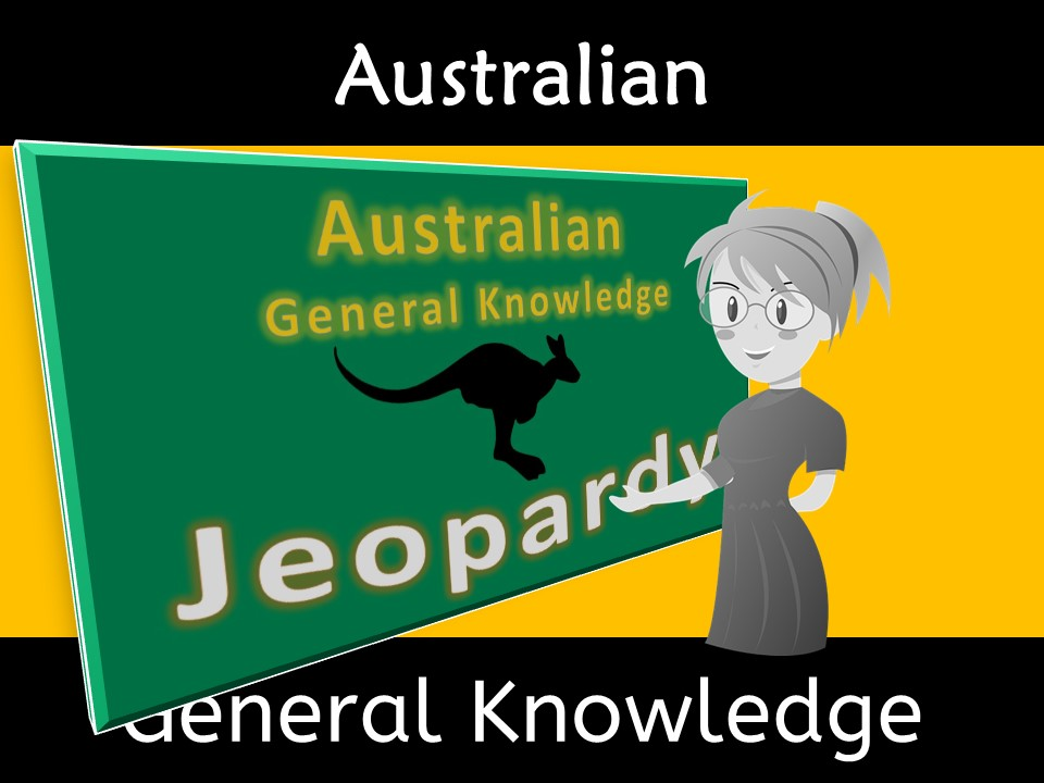 Australian General Knowledge Fact Jeopardy Quiz