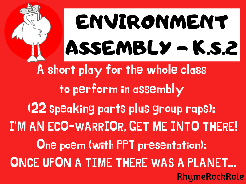 ENVIRONMENT ASSEMBLY - Whole class, KS2