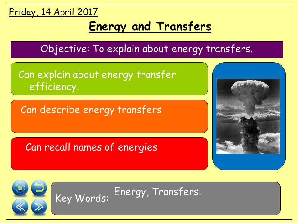 KS3 Unit of Work - Energy, Heat Transfer, Electricity and Magnetism