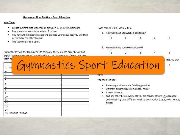 Gymnastics Sport Education