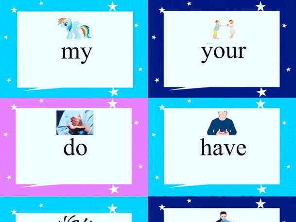 Tricky Word Actions (Jolly Phonics Sight Words)