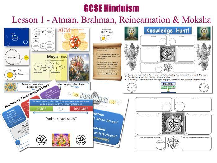 GCSE Hinduism - Atman, Brahman, Reincarnation & Moksha [ FREE LESSON ]
