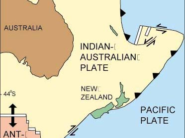 KS3 Australasia - New Zealand Tectonics