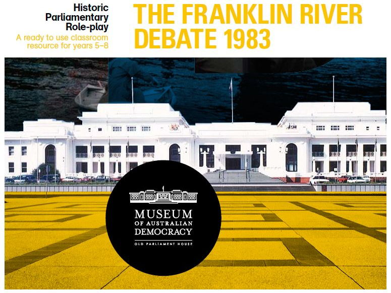 Franklin River Debate 1983: Classroom Roleplay