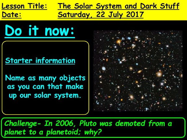 The Solar System and Expanding Universe: GCSE 9-1 Physics
