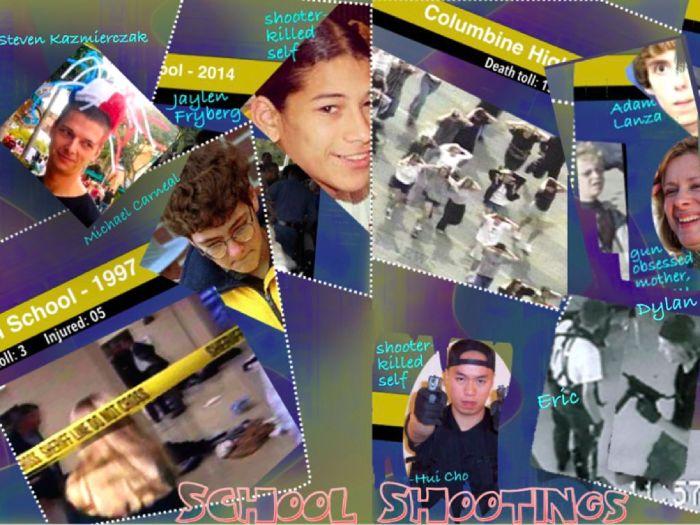 School Shootings Presentation ~ Top 25 American + MC Test ~ 82 Slides