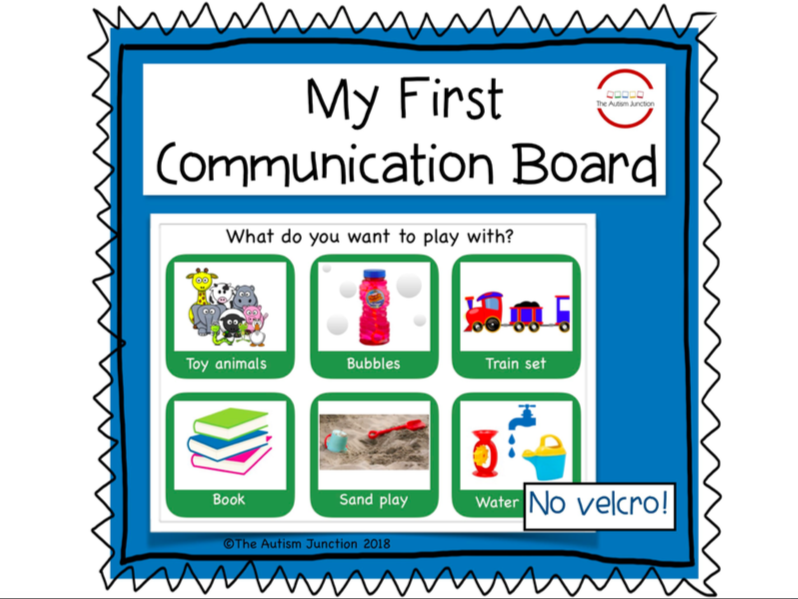 My First Communication Board
