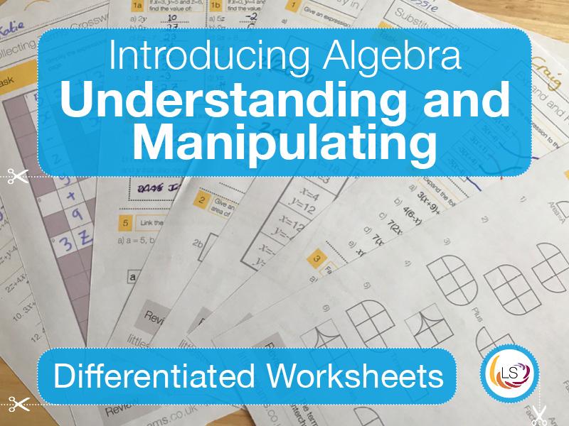 Algebra Understanding and Manipulating | Worksheets