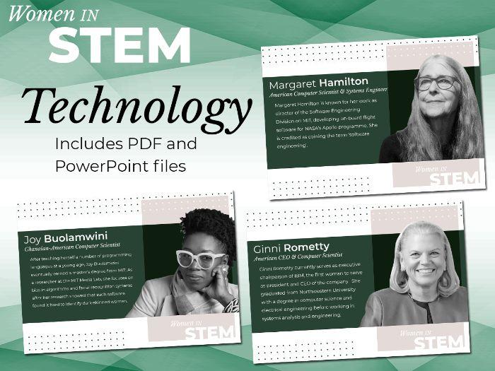 Women in STEM Posters - Technology