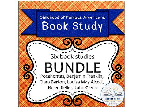 Book Study BUNDLE! Childhood of Famous Americans (6 Book Studies!)