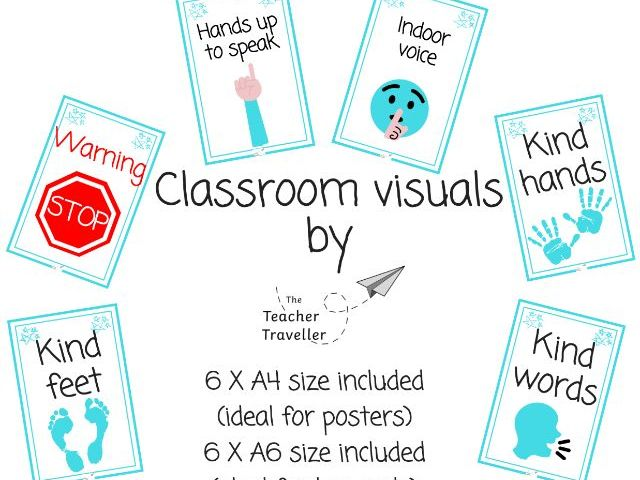 Classroom Visuals for Managing Behaviour