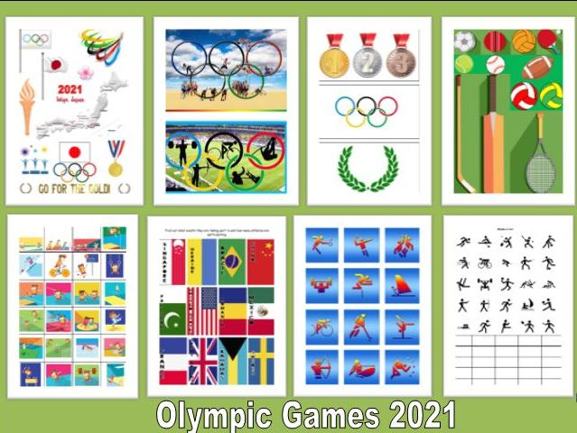 Bumper Olympic Resource Pack Tokyo 2021