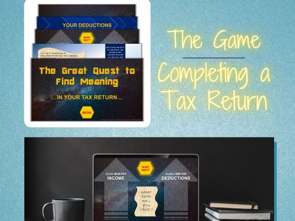 Completing a Tax Return (Australia) - Interactive E-learning Game