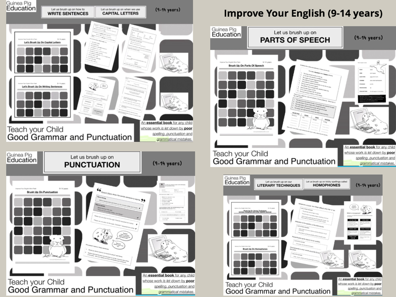 Improve Your English Work Pack Bundle (9-14 years)