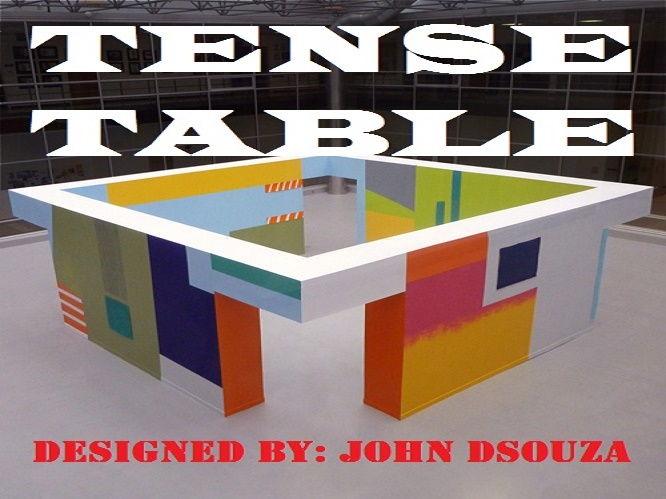 TENSE TABLE: HANDOUT