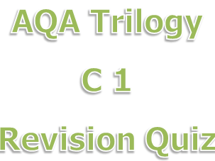 AQA Chemistry Paper 1 Revision Quiz Trilogy 5.1 to 5.5