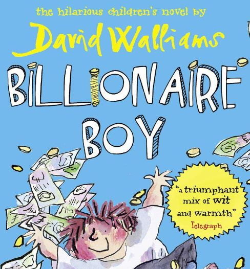 Billionaire Boy by David Walliams - workbook (differentiated)