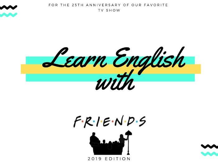 Friends TV Show Lesson ESL