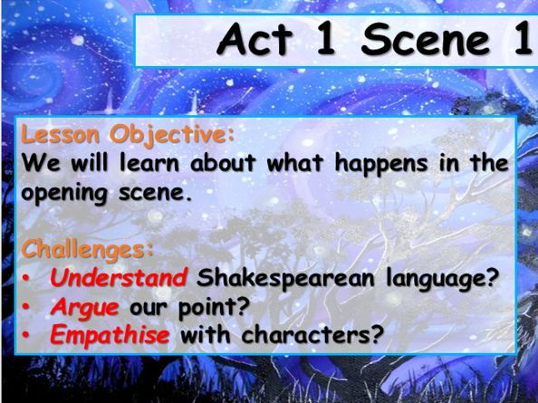 A Midsummer Night's Dream - Act 1 Scene 1