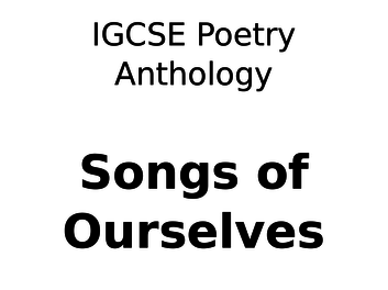 Stormcock in Elder - CIE Poetry Anthology English Literature Podcast