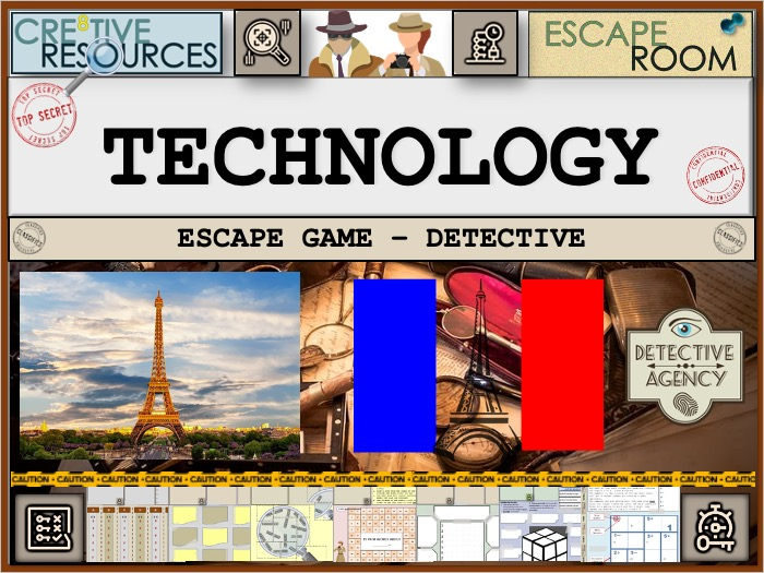 French Escape Room - Technology