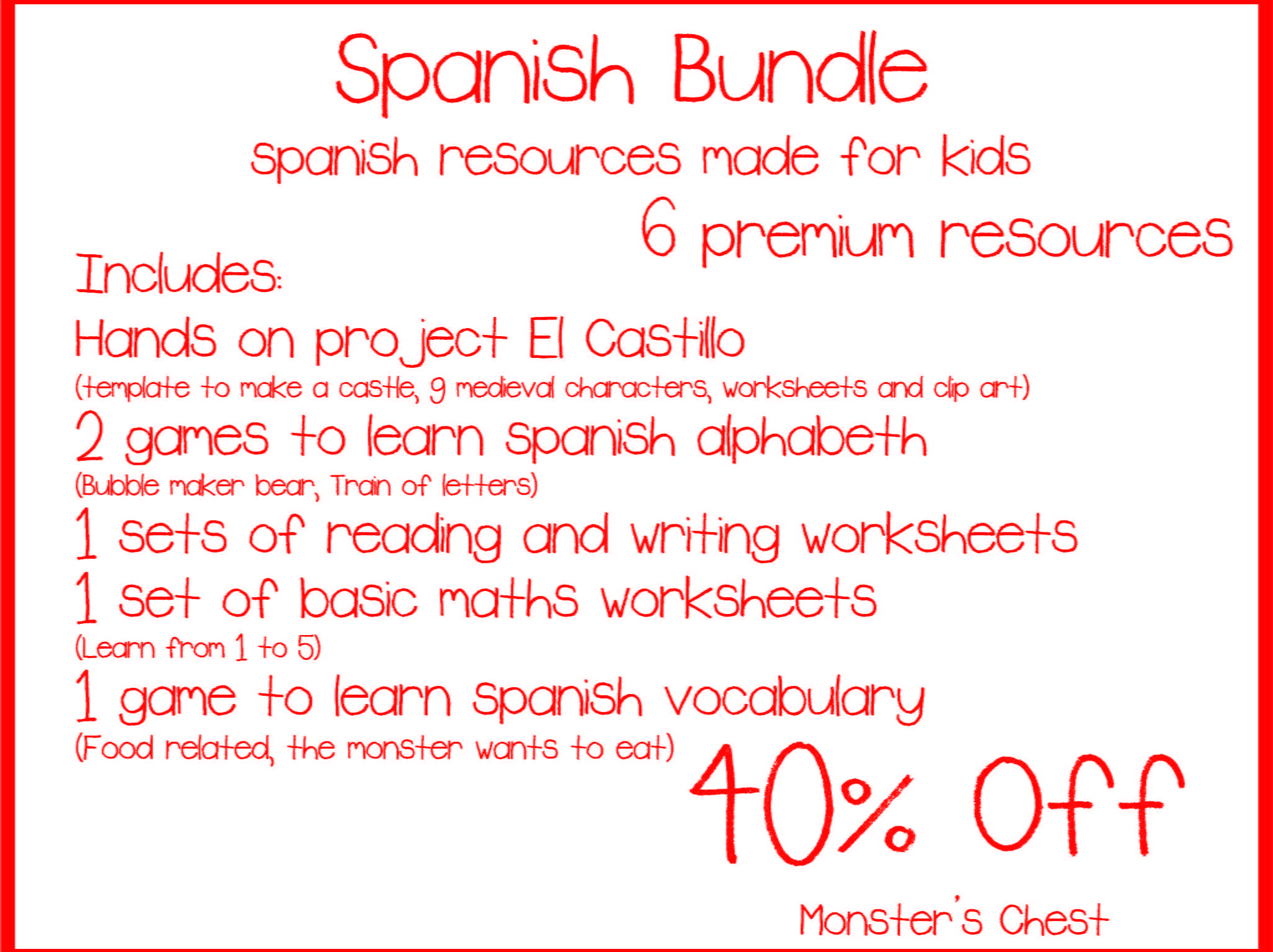 Spanish bundle