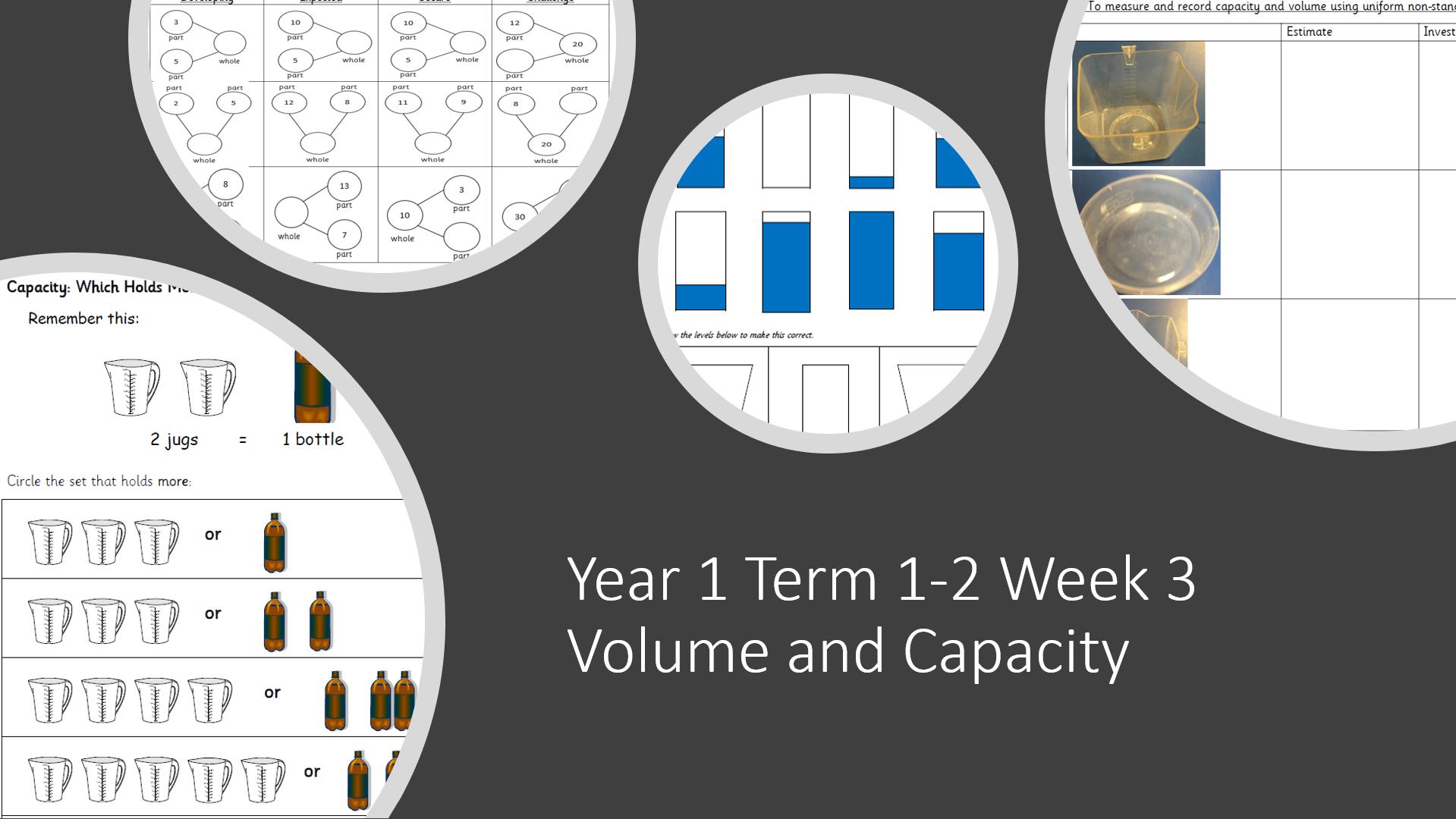Year 1 Term 1-2 Week 3 Volume and Capacity