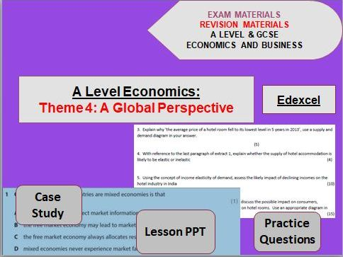 Theme 4 Economics Bundle - A Global Perspective