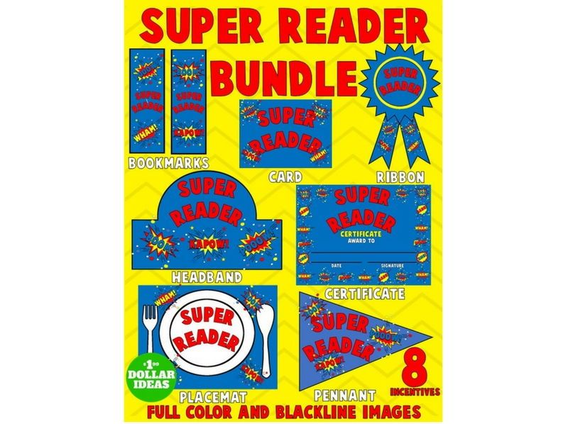 SUPER READER BUNDLE | BLUE