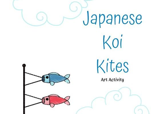 Japanese Koi Kite Art Activity