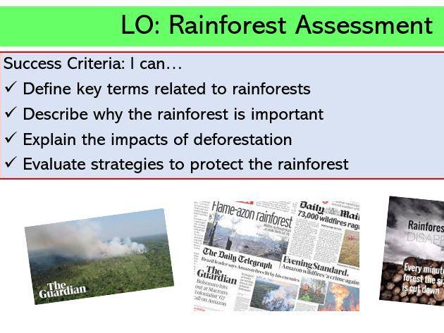 L8. Deforestation Assessment
