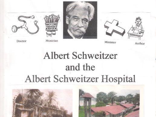 Albert Schweitzer and his Hospital