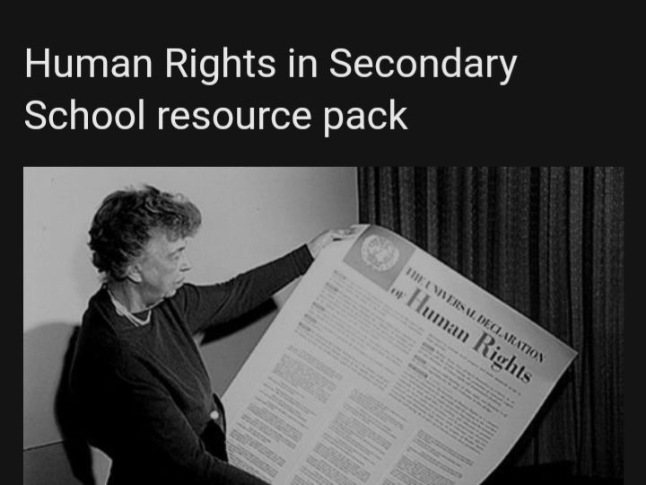 Human Rights in Secondary education