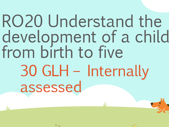 NEW QUAL RO20 Cambridge national Child development - Development of a child