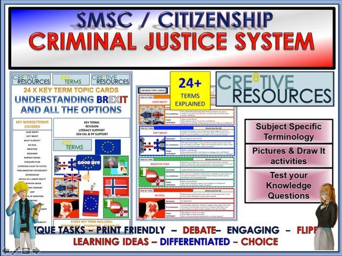 Citizenship Revision - Criminal Justice system