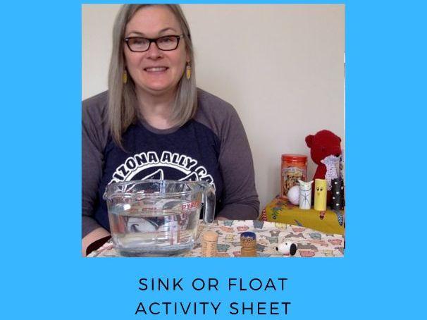 Sink or Float Recording Sheet
