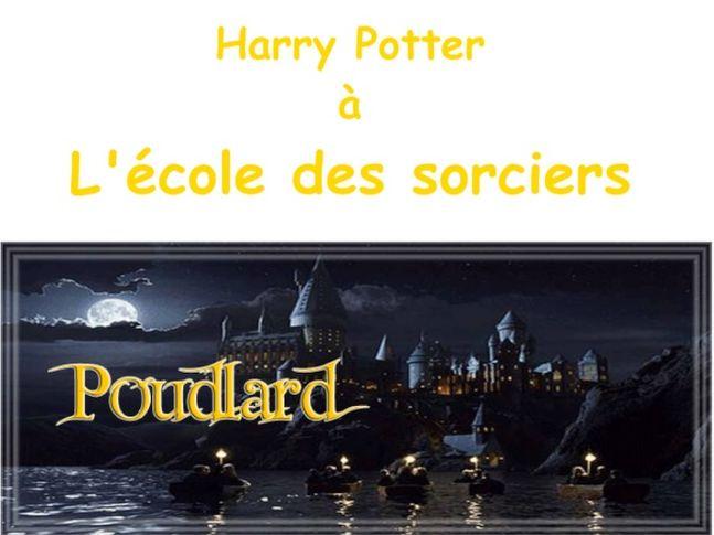 Harry Potter in French- à l'école des sorciers. KS2/3